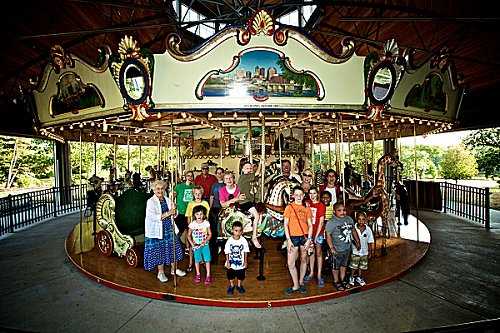 National Carousel Day 2012 - Group Shot