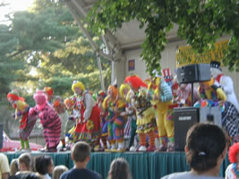 Clowns Dancing