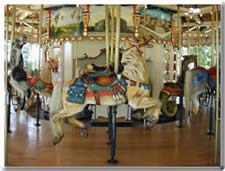 Heritage Carousel  - Horse with mail bag