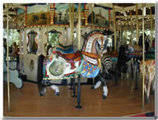 Lead Horse at Heritage Carousel